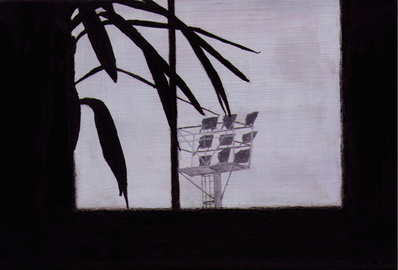 2002. Oil on gesso panel.