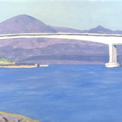 Bridge at the Isle of Skye.
